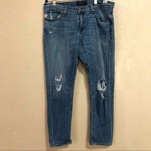Lucky Brand Size 10/30 Sienna Slim Boyfriend Jeans